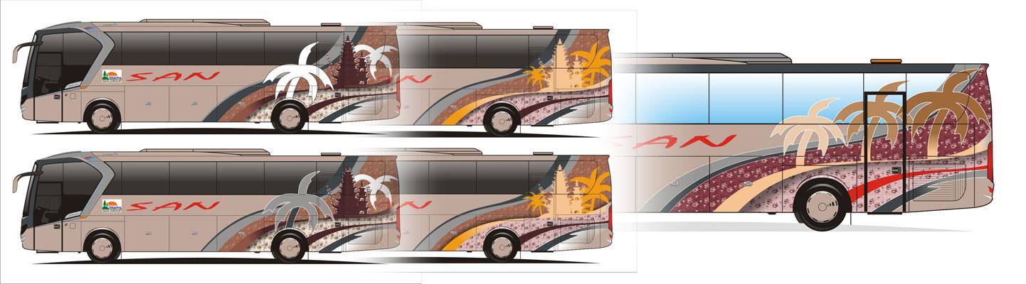 Dengan balutan desain motif batik besurek menunjukkan bahwa SAN ...